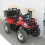 ATV ready to go