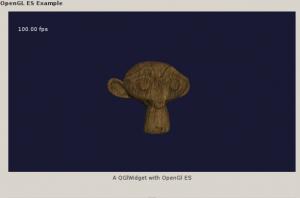 Loading wavefront .obj files in Qt's OpenGL ES