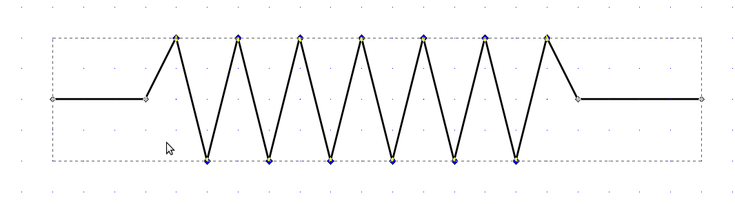 Drawing Lines With Inkscape : Updated method for drawing springs in inkscape · dragly